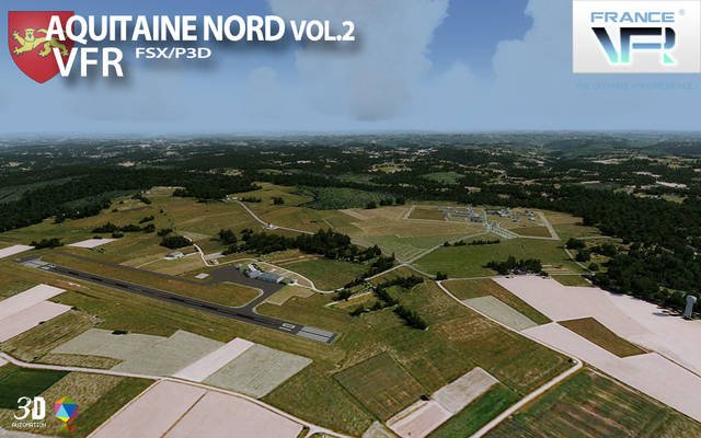 France VFR - Aquitaine Vol.2 (for P3D v4)
