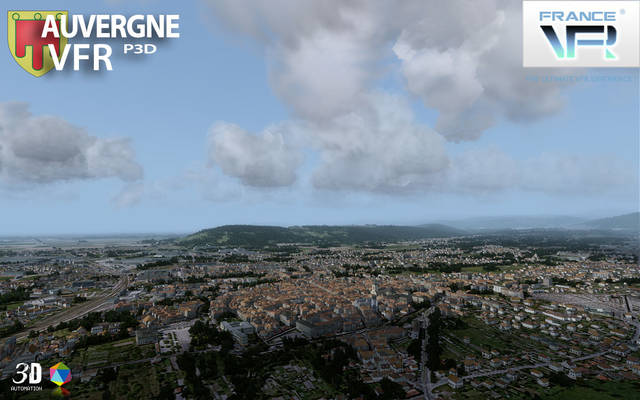 France VFR - Auvergne (for P3D v4)