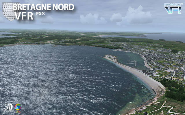 France VFR - Bretagne Vol.1 (for FSX)