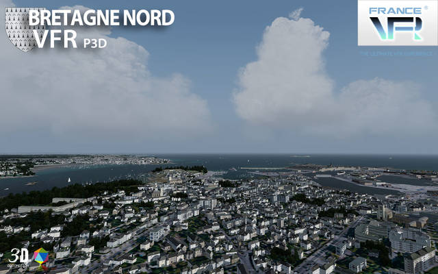 France VFR - Bretagne Vol.1 (for P3D v4)