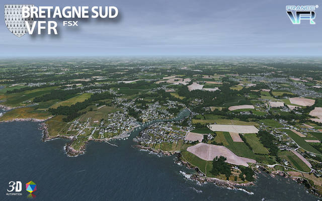 France VFR - Bretagne Vol.2 (for FSX)
