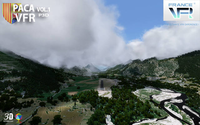 France VFR - French Riviera Vol.1 (P3D v4)