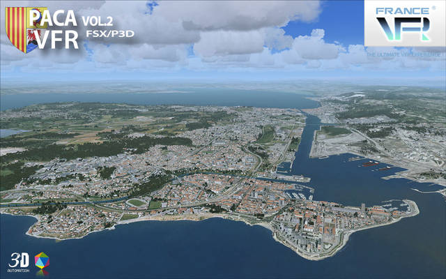 France VFR - French Riviera Vol.2 (for FSX & P3D v1-v3)