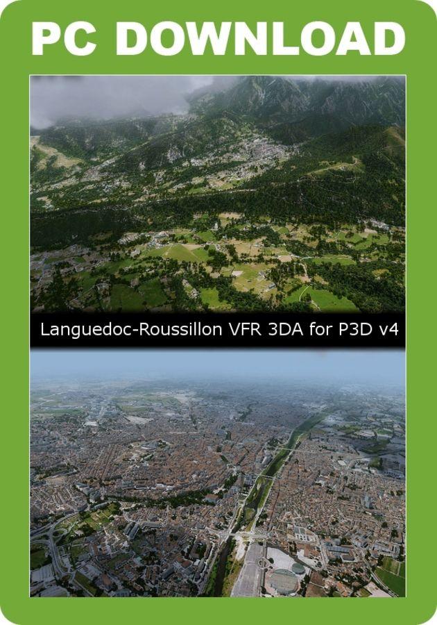Just Flight - France VFR - Languedoc-Roussillon (for P3D v4)