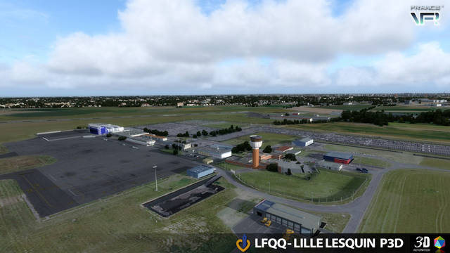 France VFR - LFQQ - Lille Lesquin (for P3D v4/v5)
