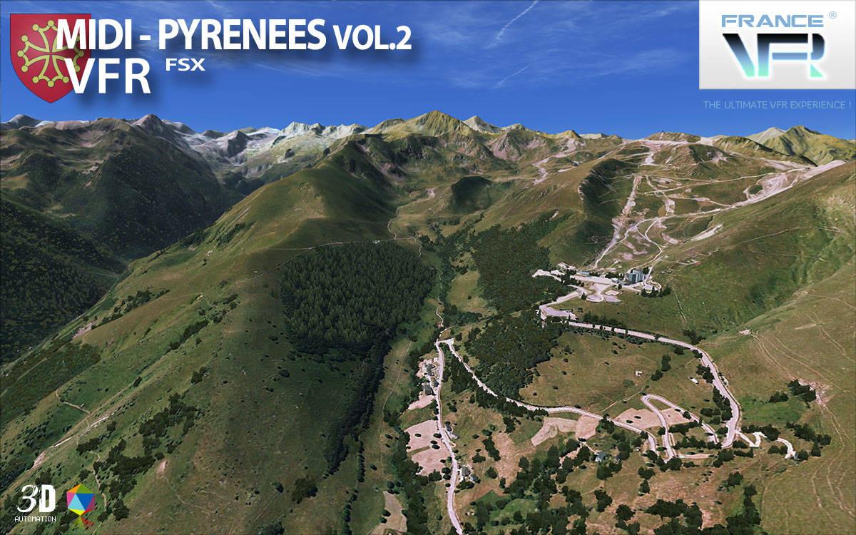 Just Flight - France VFR - Midi-Pyrénées Vol 2 (for FSX)