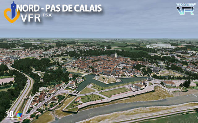 France VFR - Nord-Pas de Calais (for FSX)