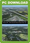 France VFR - Paris-Ile de France Airport Pack Vol. 1 (for FSX & P3D v1-v3)