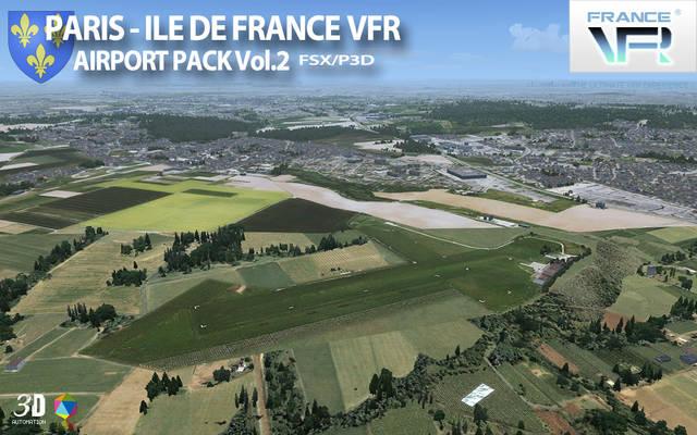 Just Flight - France VFR - Paris-Ile de France Airport Pack