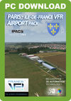 France VFR - Paris - Ile de France VFR Airport Pack (for Aerofly FS 2)