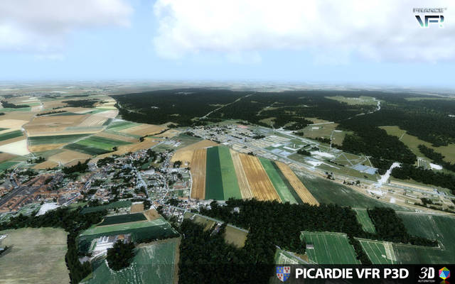 France VFR - Picardy (for P3D)