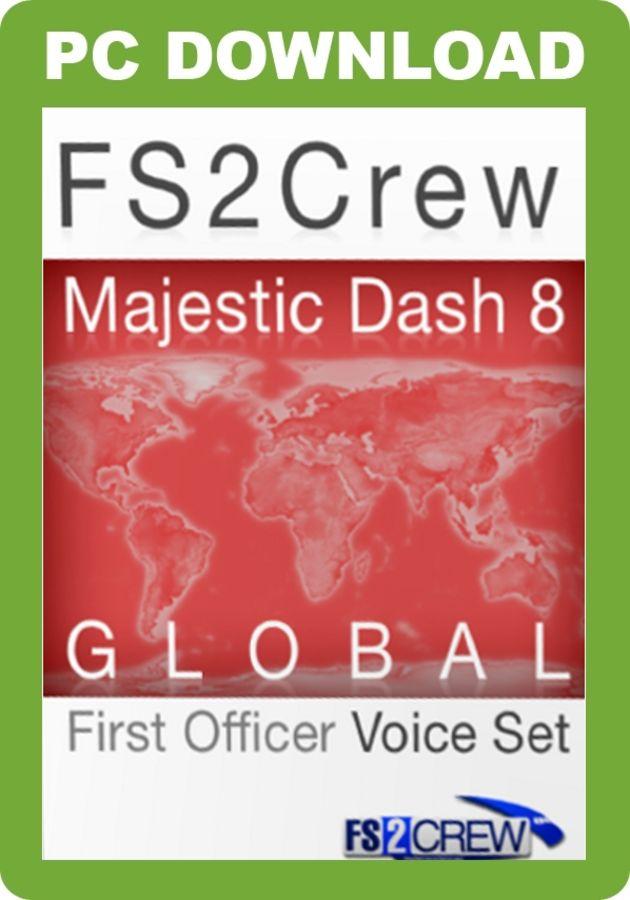 Just Flight - FS2Crew: Majestic Dash 8 Global FO Voice Set