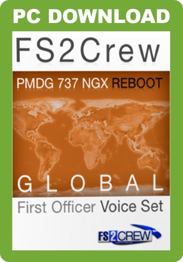 Just Flight - FS2Crew: PMDG 737 NGX Reboot Global FO Voice Set