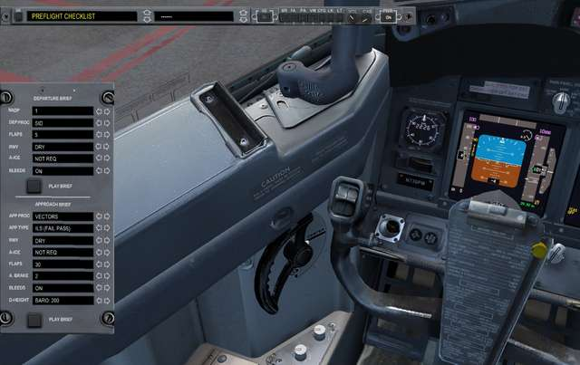 Just Flight - FS2Crew: PMDG 737 NGX Reboot (Voice & Button Control)