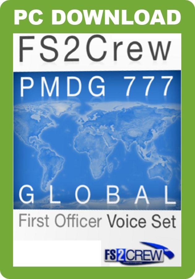 Just Flight - FS2Crew: PMDG 777 Global FO Voice Set