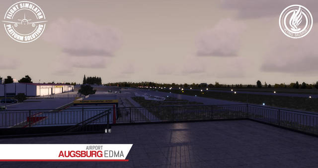 Just Flight - FSPS Augsburg Airport EDMA
