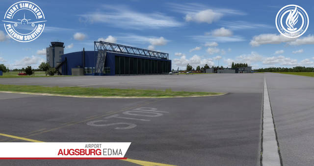 FSPS Augsburg Airport EDMA