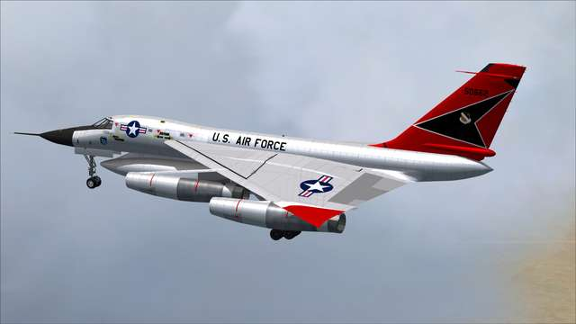 Glowing Heat Convair B-58 Hustler