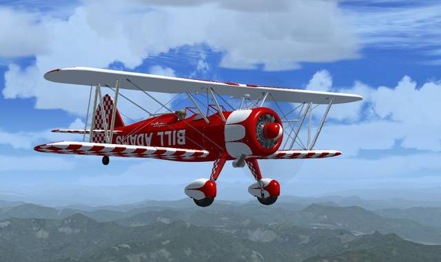 Golden Age Simulations Boeing Super Stearman