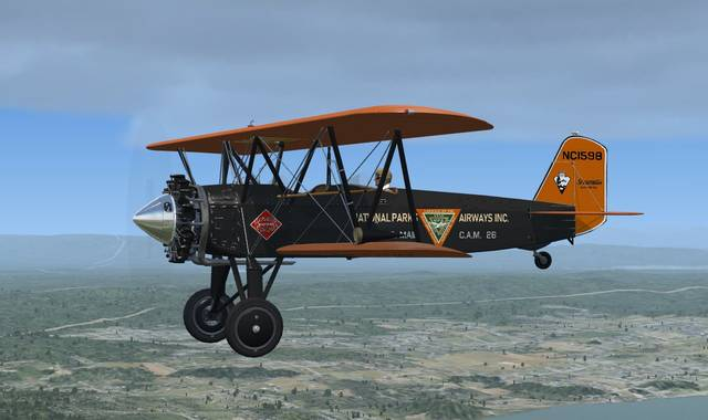 Golden Age Simulations C3B Stearman
