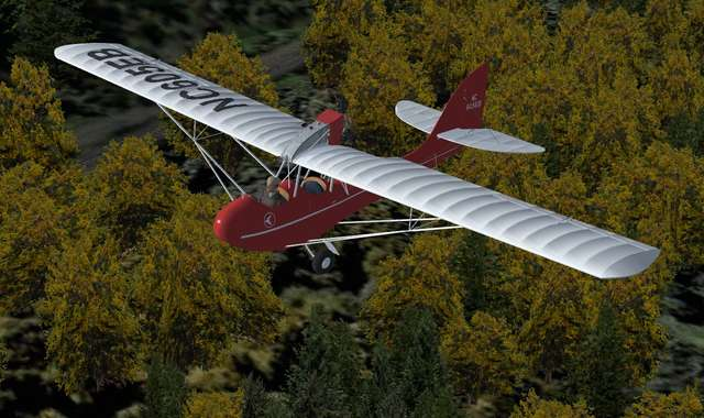Golden Age Simulations Curtiss-Wright CW-1 'Junior'