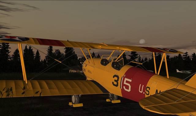 Just Flight - Golden Age Simulations Stearman PT/N2S