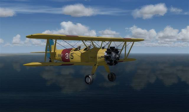 Golden Age Simulations Stearman PT/N2S