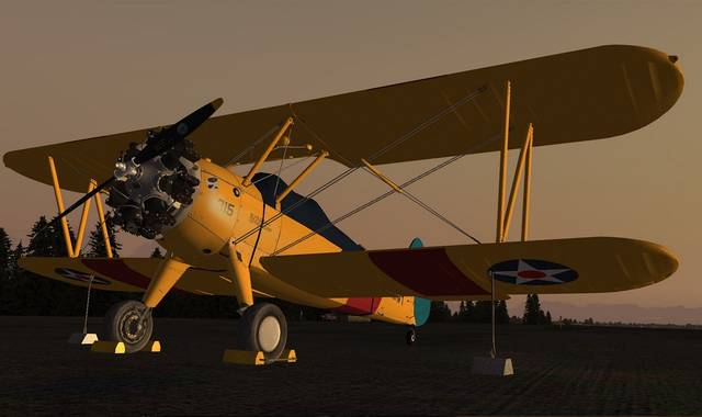 Just Flight - Golden Age Simulations Stearman PT/N2S