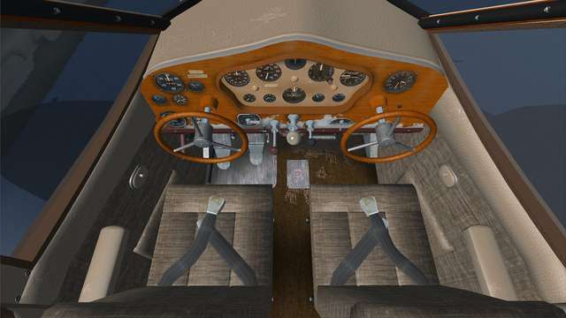 Golden Age Simulations Stinson SR-8 Gullwing