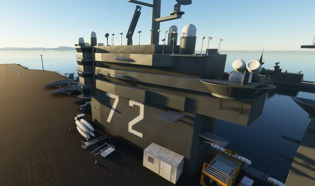 Hard Deck Simulations - Aircraft Carrier Module