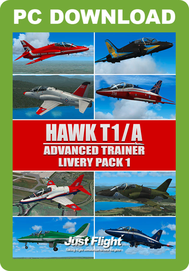 Just Flight - Hawk T1/A Advanced Trainer Livery Pack 1 (for