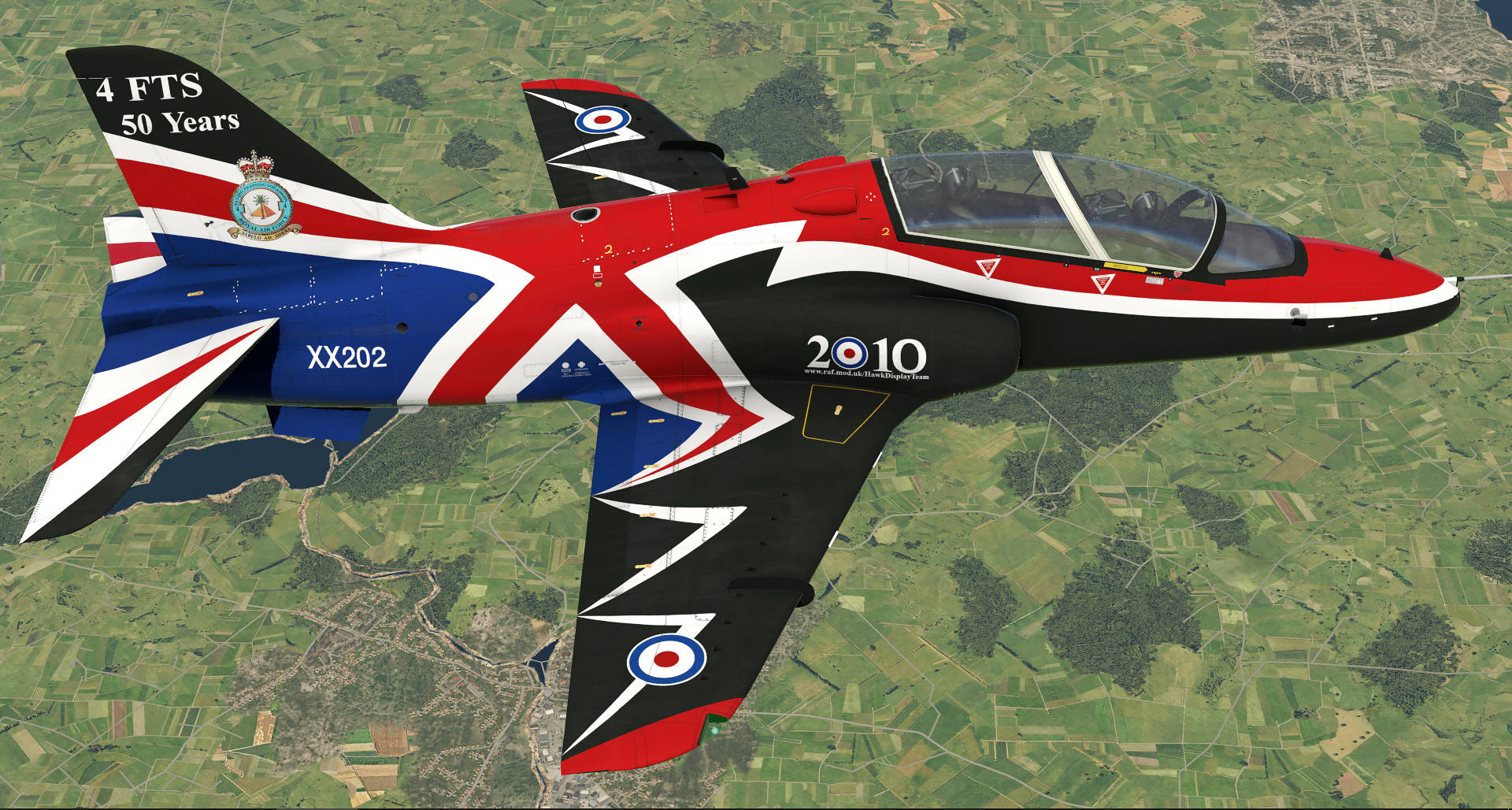 Just Flight - Hawk T1/A Advanced Trainer Livery Pack (for X