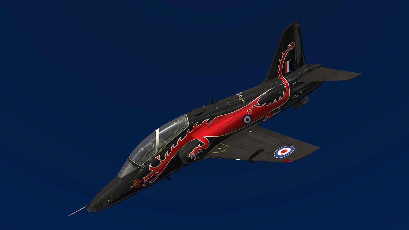 Just Flight: Hawk T1/A Advanced Trainer in X-Plane 11