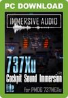 Immersive Audio - 737Xu Cockpit Sound Immersion Lite