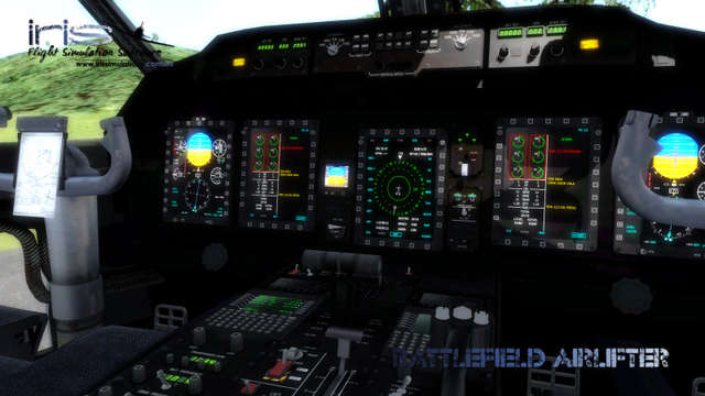 IRIS Battlefield Airlifter (FOR FSX)
