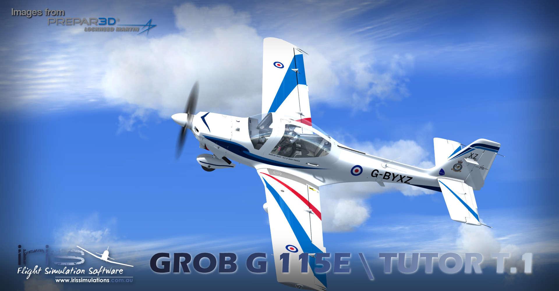 Just Flight - IRIS - Pro Training Series – Grob G115E