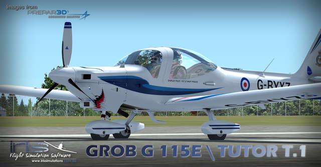 Just Flight - IRIS - Pro Training Series – Grob G115E / Tutor T 1