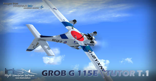 Just Flight - IRIS - Pro Training Series – Grob G115E / Tutor T 1