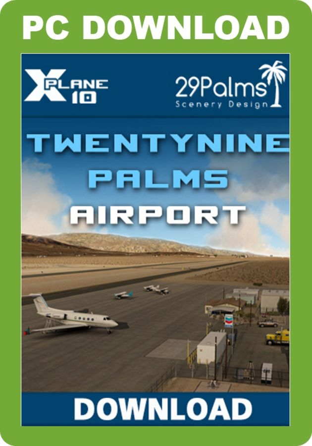 Just Flight - KTNP Airport – Twentynine Palms (for X-Plane)