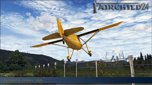 Lionheart Creations Fairchild Model 24