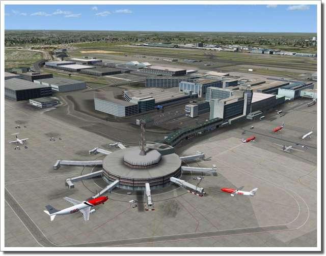 Just Flight - Mega Airport Brussels