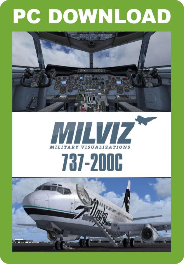 Just Flight - MilViz 737-200 Combi
