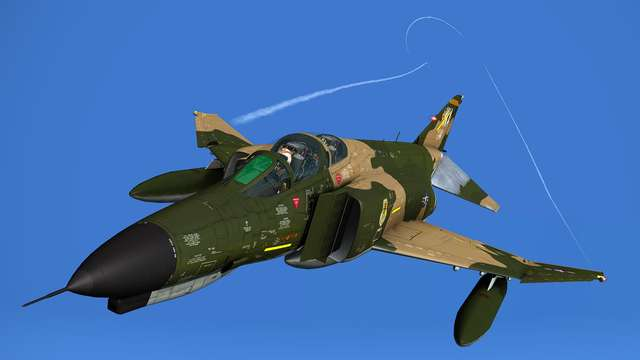 MilViz F-4E Phantom II + F-4J & F-4S Phantom II Bundle