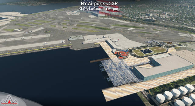 New York Airports XP v2 - KJFK, KLGA, KTEB