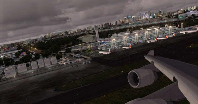 Ninoy Aquino Intl Airport and Metro Manila
