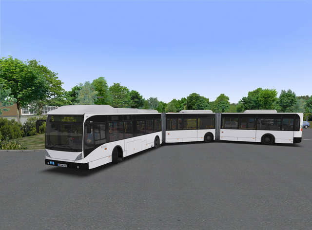 Just Flight - OMSI 2 Add-on - Bi-articulated Bus AGG 300