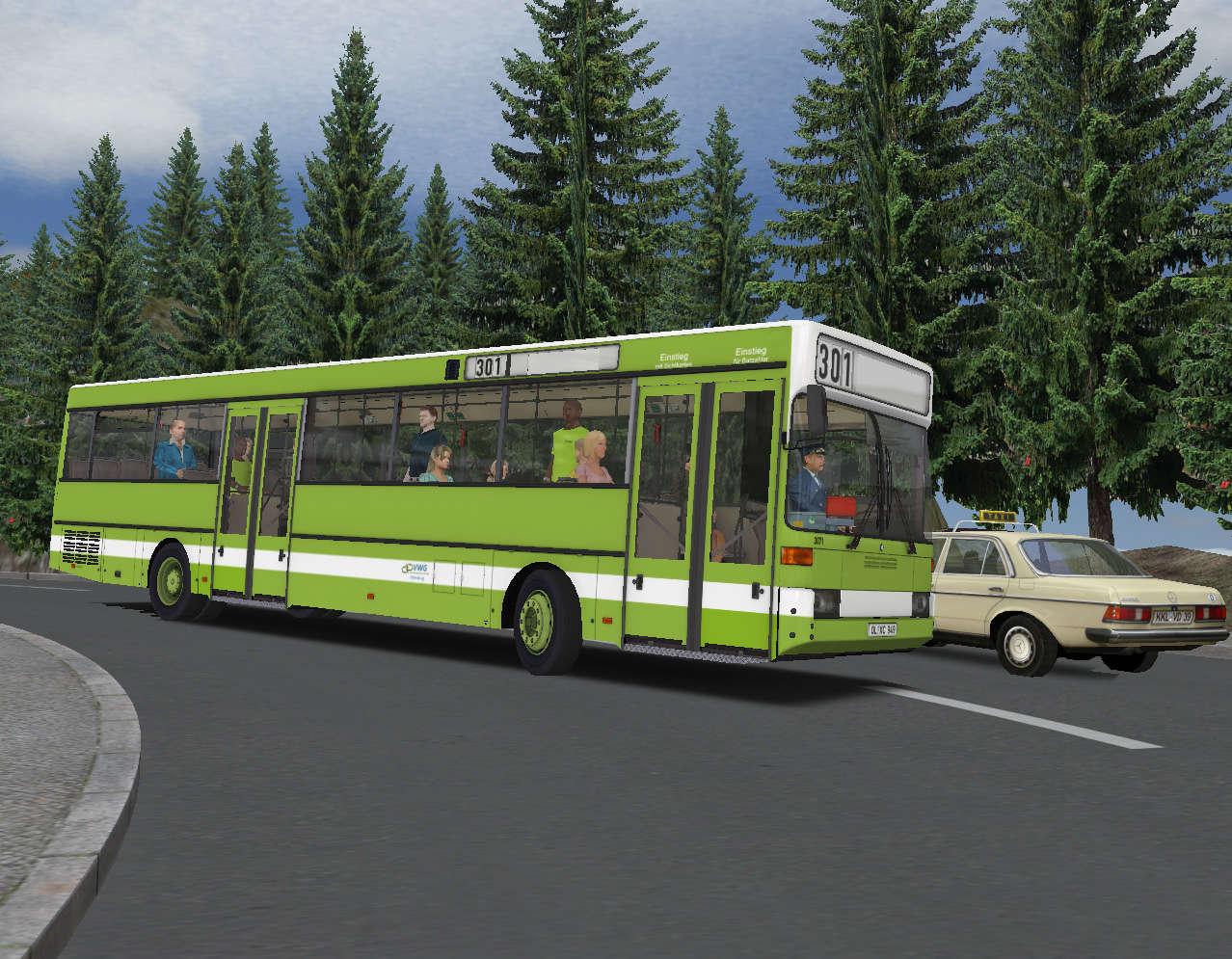 Just Flight - OMSI 2 Add-on - Citybus O405/O405G