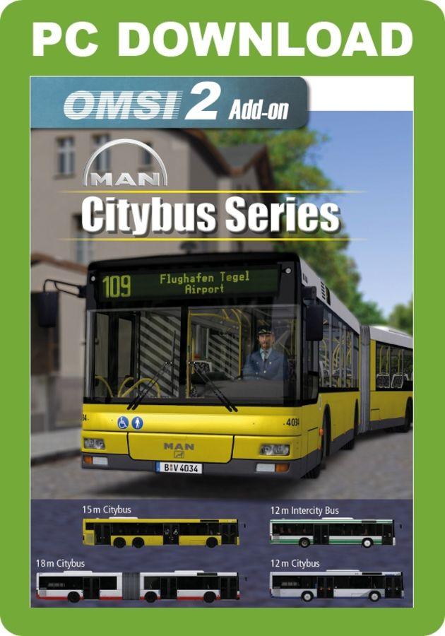 Just Flight - OMSI 2 Add-On - MAN Citybus Series