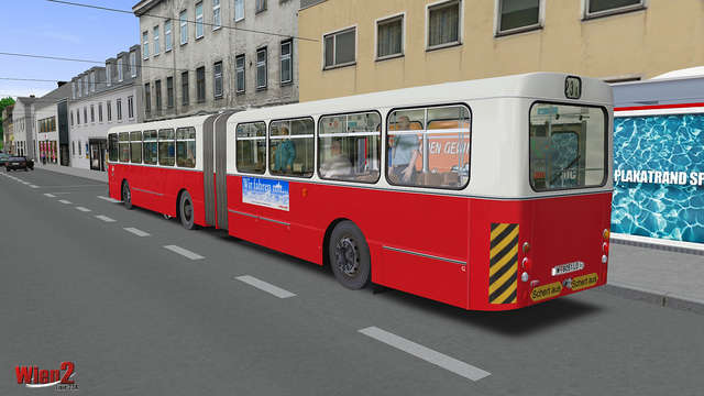Just Flight - OMSI 2 Add-on - Vienna Line 23A