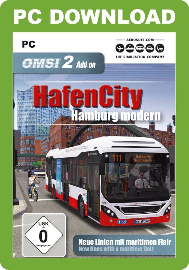 Just Flight - OMSI 2 Add-On - HafenCity-Hamburg Modern